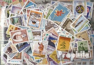 Nepal 400 different stamps