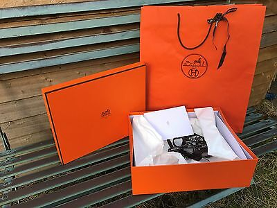 hermes box H11/L35/W28cm,carrier bag  ''gift wrapping''.