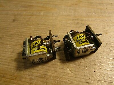 Jaico Products Co Chicago D529 Board Mount Relay Set 2