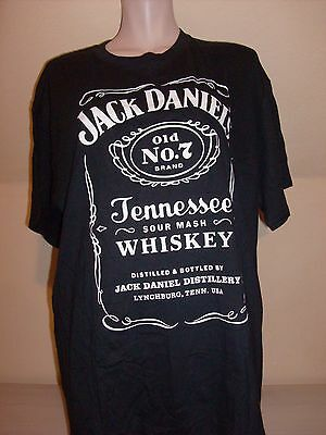 JACK DANIELS whisky tee-shirt neuf taille XL