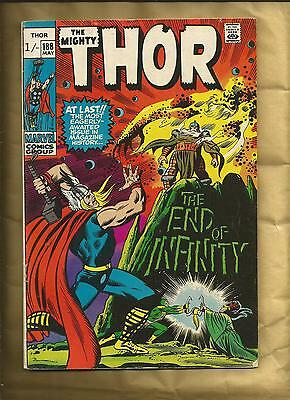The Mighty Thor 188  1971 John Buscema scarce British Cover Price Marvel Comics