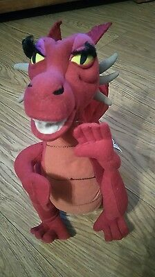 """Play By Play Dreamworks 2004 Shrek 2 Dragon 12"""" Tall Character Soft Toy"""
