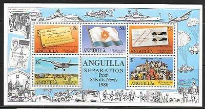 Anguilla 1980 Petition For Separation Sc # 428A Mnh