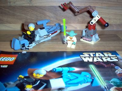 Lego - Star Wars - Set 7103 - Jedi Duel Dooku + Yoda / 100% Complet 2002 Rare