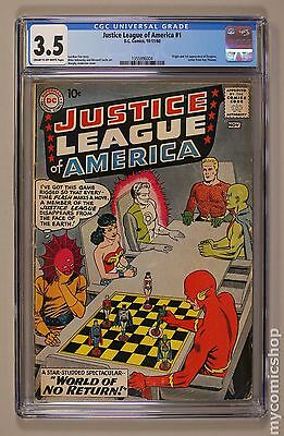 Justice League of America (1960 1st Series) #1 CGC 3.5 1355996004