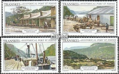 Transkei 180-183 mint never hinged mnh 1986 Old Views