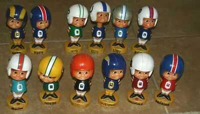 Choose One 1975 Nfl Vintage Football Bobblehead Nodder Green Bay Packers