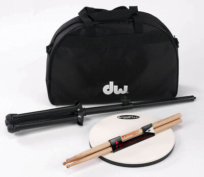 "DW Drum Workshop 12"" Drum Practice Pad w/Accessories"