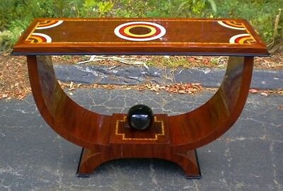 Best of Art Deco style forms console