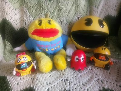 Pac Man Namco Collection Vintage Video Game Toys