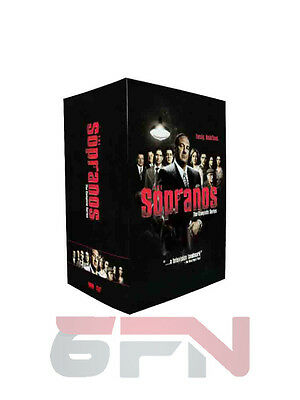 The Sopranos - The Complete Series (DVD, 2012, 30-Disc Set) Brand New!