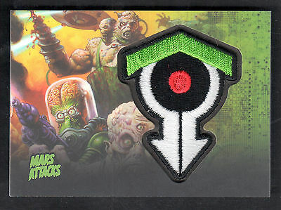 MARS ATTACKS INVASION (Topps/2013) AUTHENTIC PATCH CARD #MP10 SCIENCE-UNLEASHED