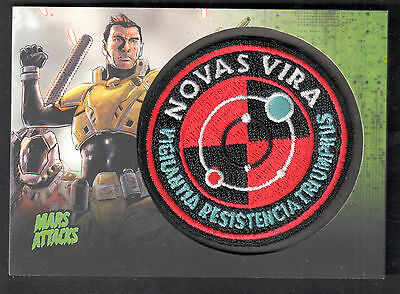 MARS ATTACKS INVASION (Topps/2013) AUTHENTIC PATCH CARD #MP13 SPACE COMMANDOS