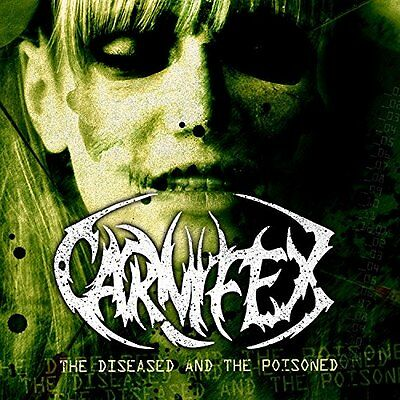Carnifex-Diseased And The Poisoned-Vinyl Lp Victory Neu