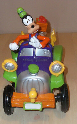RC Animated Disney Goofy's Bumpy Ride Jalopy Car Truck Vehicle Mattel Toy Works!