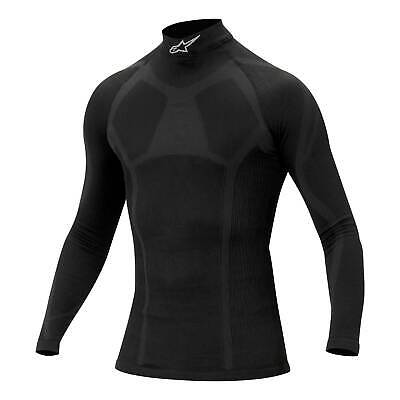 Alpinestars KX Winter Underwear Kart/Karting/Go Kart Long Sleeve Top in Black