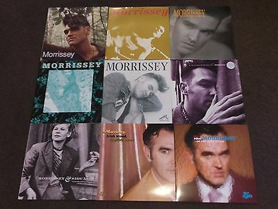 """MORRISSEY - Collection Of 9 12"""" Vinyl Singles(ALL LISTED AND GRADED!!!!!)"""