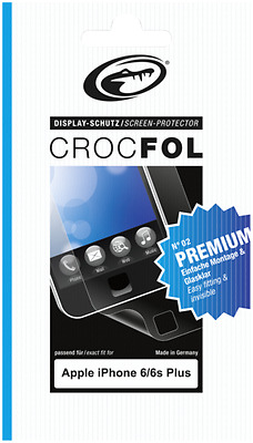 1x2 CROCFOL Premium Apple iPhone 6 6s Plus NEU
