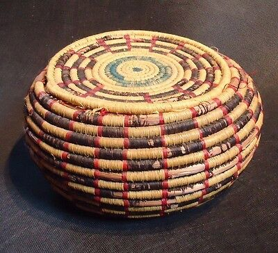 Ali baba sewing basket with lid