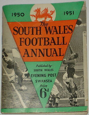 South Wales Football And Rugby Union Annual 1950-1951