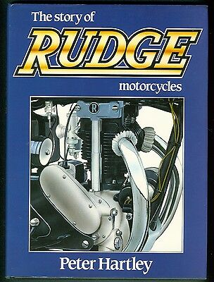 The Story of Rudge Motorcycles by Peter Hartley Book, Ulster, Radial, etc