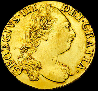 KING GEORGE III 1786 FULL GOLD GUINEA.. Excellent Condition...