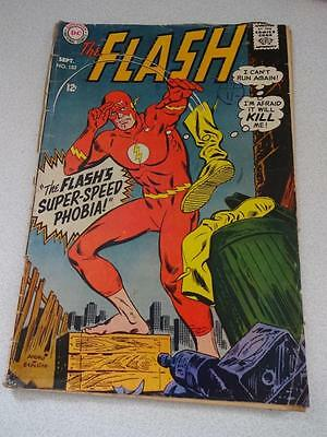 THE FLASH  comic  September 1968 #182,DC SILVER AGE,12c
