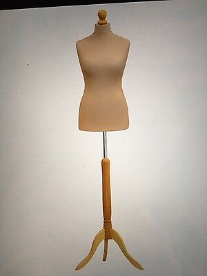 Tailor Dummies Size 12/14 Dummy Dressmaker Mannequin Bust Display Stand Female