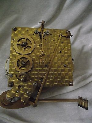 VINTAGE SMITHS westminster chime mantel clock movement for spares and repairs
