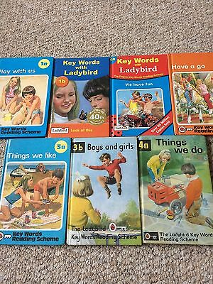 7 Peter and Jane Ladybird Reading scheme books