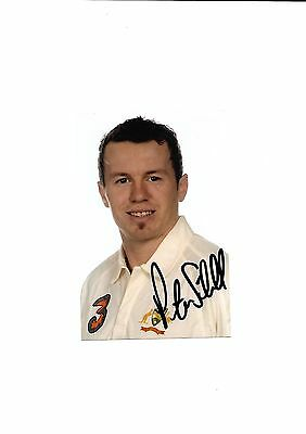 Australia -  Peter Siddle  (Hand Signed)
