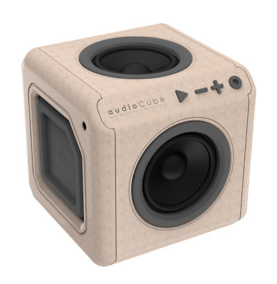 allocacoc AudioCube portable wood edition NEU