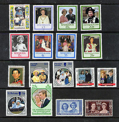"""""""Royalty"""" stamps.     39p ask."""