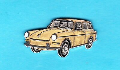 Alter emaillierter VW - Pin in Gold
