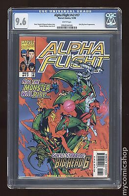 Alpha Flight (1997 2nd Series) #17 CGC 9.6 0958266008
