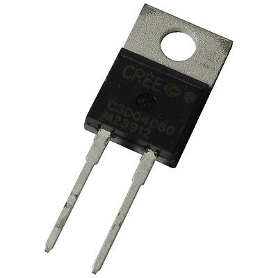 Cree C3D04060A SiC-Diode 6A 600V Silicon Carbide Schottky Diode TO220AC 855422