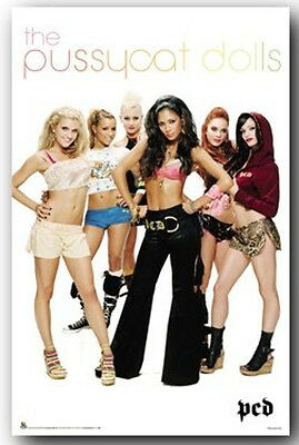 PUSSYCAT DOLLS PCD Music Girl Group Band Poster ~ 24x36
