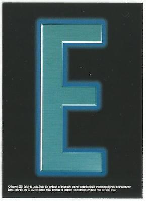 Dr Doctor Who Series 2  Dalek Case Topper Card 'E' from Strictly Ink