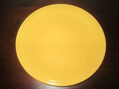 "Vintage  fiesta  Yellow  7"" Salad or Cake  Plate Unmarked"