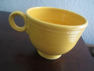 Vintage fiesta Yellow Tea Cup   Ring Mug