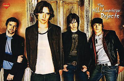 "THE ALL AMERICAN REJECTS - TYSON RITTER - 16"" x 11"" CENTERFOLD - POSTER - 2006"