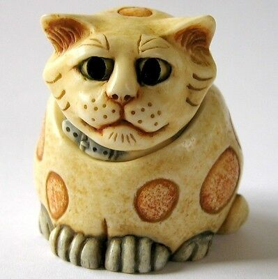 Martin Perry Studios: Pot Bellys: Small Cat Box Figurine - March 1 - Mars - BNIB