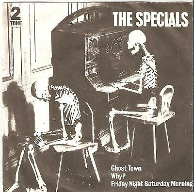 """The Specials – Ghost Town. (1981 MINT Vinyl 7"""")"""