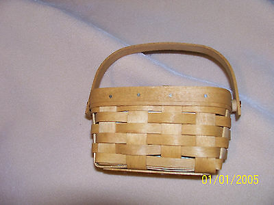Longaberger 2004 Host Bonus Basket WB NEW