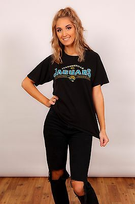 Vintage black & gold Jacksonville Jaguars football t-shirt NFL