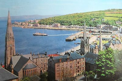 ROTHESAY FROM CHAPEL HILL  Vintage Postcard