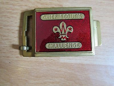 vintage 2 scout belt buckle's