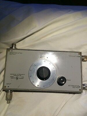 HP PACKARD VARIABLE ATTENUATOR Model: 394A Tested With Connectors