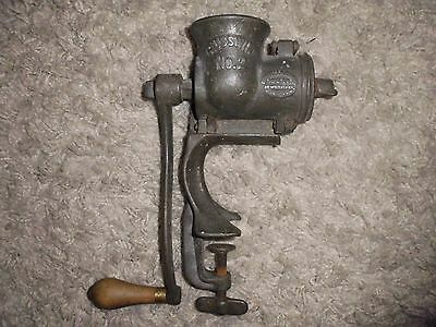 Vintage Russwin No.2 Meat Grinder Mincer Russell & Erwin