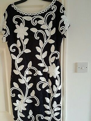 mother of the bride outfit Size 16 used once  MINT condition